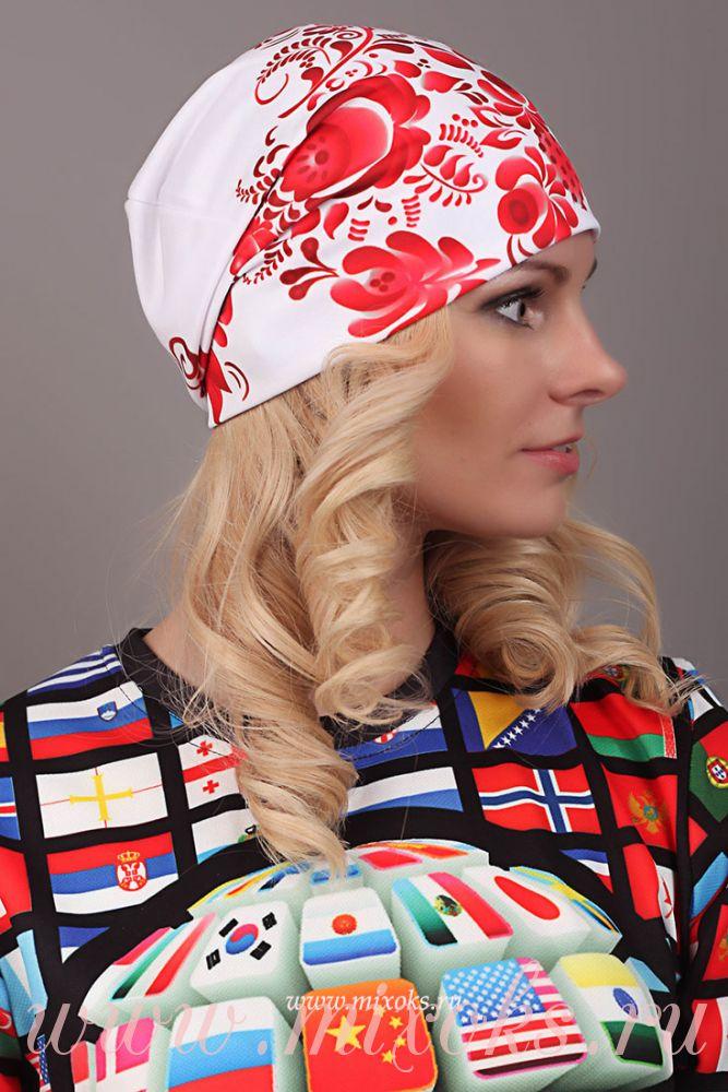 зимнии шапки женские