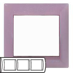 Рамка Legrand Valena 3 поста горизонтальная Виола(арт.770053)