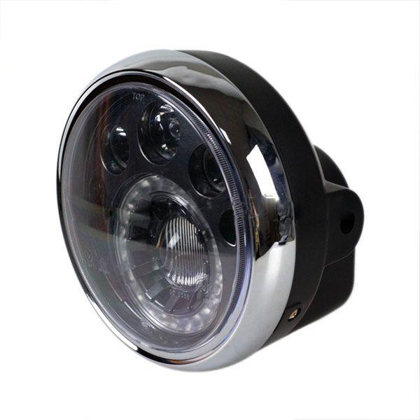 Светодиодная LED фара головного света для мотоцикла Harley 7 дюймов 31W