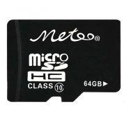 Карта памяти MicroSD ёмкостью от 4 Гб до 64 Гб
