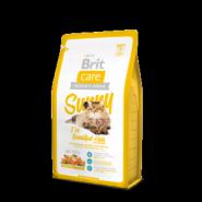 Brit Care Sunny - Для взрослых кошек, шерсть которых требует дополнительного ухода (2 кг)