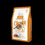 Brit Care Cheeky - Для взрослых кошек, живущих на улице (2 кг)