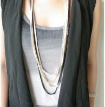 Ожерелье из 3 цепочек