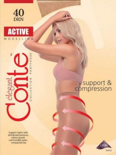 колготки CONTE Active 40