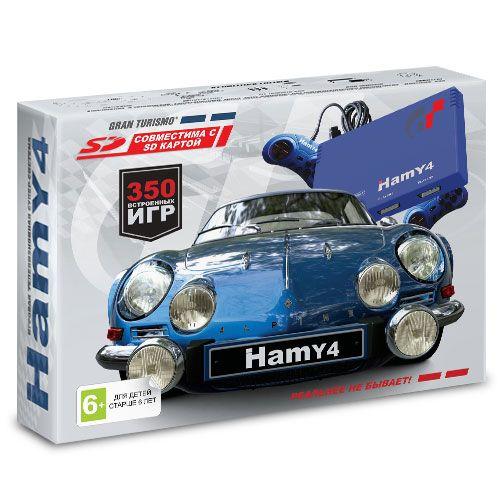 """Sega - Dendy """"Hamy 4"""" (350-in-1) Gran Turismo Blue"""