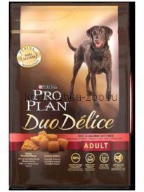 Pro Plan Duo Delice для собак с лососем