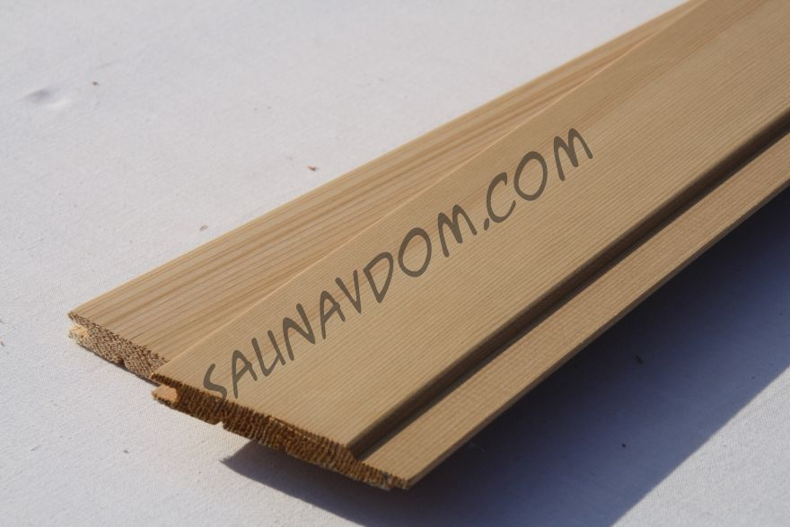 Вагонка Кедр канадский Светлая 11х94х1830 мм. Экстра