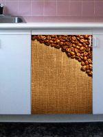 Наклейка на посудомоечную машину  - Кофе 3 Темная  обжарка