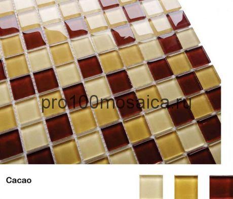 Cacao Мозаика серия Acquarelle 23x23, размер, мм: 298*298*4 (Caramelle)