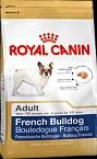 Royal Canin FRENCH BULLDOG ADULT для французского бульдога (c 12 мес.) 9 кг.