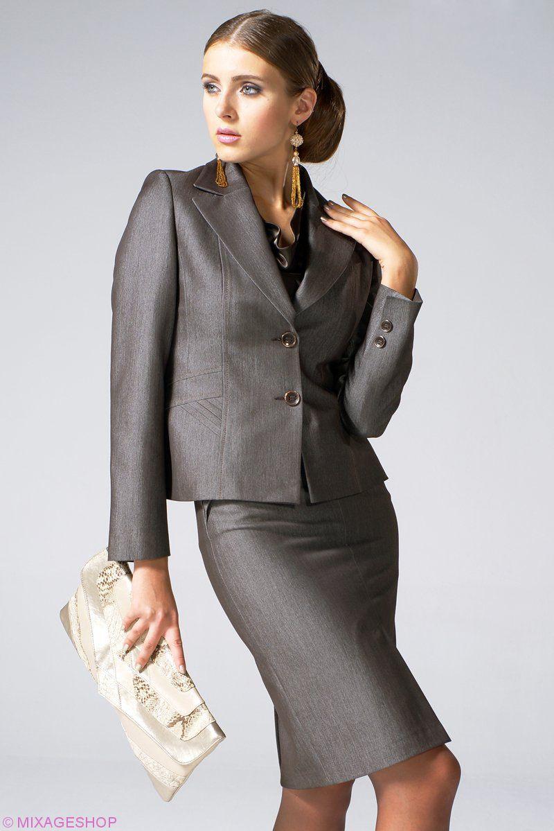 Пиджак полуприлегающего силуэта с застежкой на пуговицы