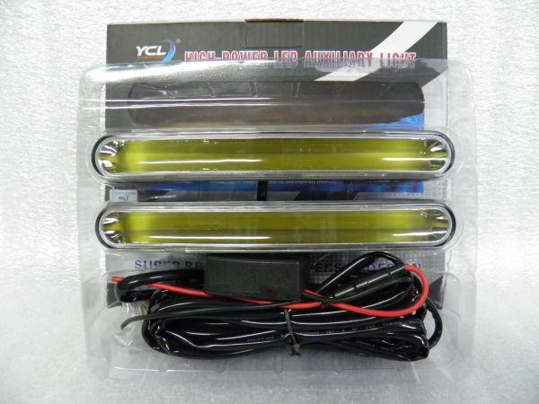 Дневные ходовые огни 190 мм СОВ LED DRL комплект (узкие)