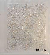 Наклейки 3D BM-11s (серебро)