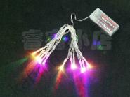 Гирлянда - 11 светодиодов - мигающие