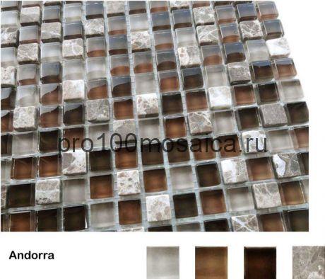 Andorra Мозаика серия Naturelle 15x15x4, размер, мм: 305*305 (Caramelle)