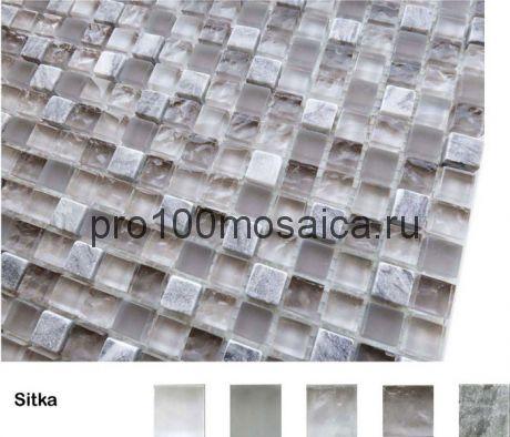 Sitka Мозаика серия Naturelle 15x15x4, размер, мм: 305*305 (Caramelle)