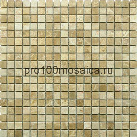 Emperador Light 15 x15 POL Мозаика серия Pietrine Stone, размер, мм: 305*305*4 (Caramelle)