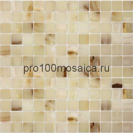 Onice Jade Bianco 23 x 23 Мозаика серия Pietrine Stone, размер, мм: 298*298 (Caramelle)