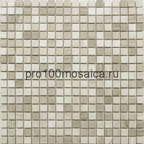 Travertino Silver 15 x15 POL Мозаика серия Pietrine Stone, размер, мм: 305*305*4 (Caramelle)