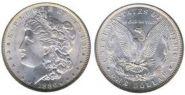 Магнитная монета Morgan Dollar (3.8 см)