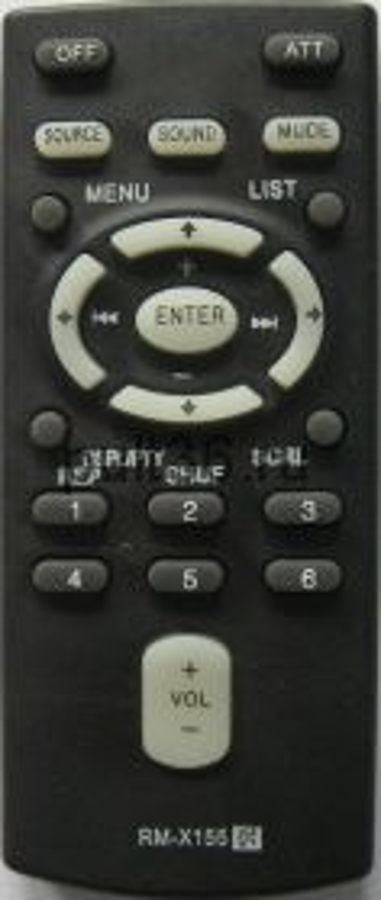 Пульт ДУ Sony RM-X155 (151) AUTO Audio XPLOID