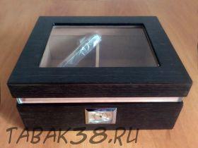 Хьюмидор WH10014-A 260*220*120mm c верхним стеклом