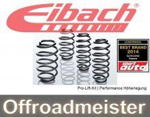 Пружины Eibach Pro-Lift-Kit, завышение 25мм., для 4wd