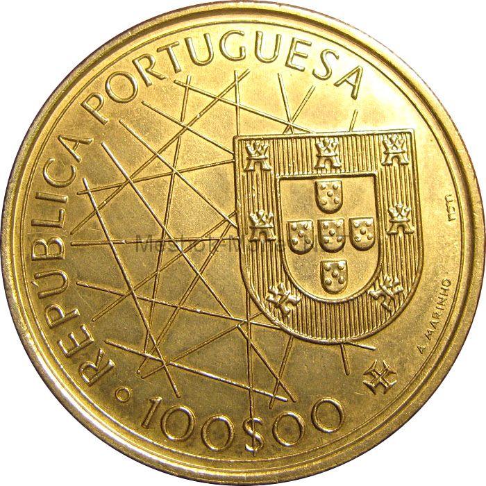 Португалия 100 эскудо 1989 г.