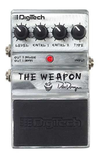 DIGITECH THE WEAPON - DAN DONEGAN Педаль гитарная