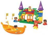 SLUBAN Парк развлечений M38-B6025 Оранжевая лодка