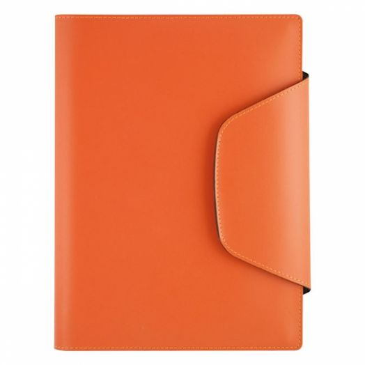 Книга для записи Lediberg  Open Design 210х270, оранжевый, 77058425
