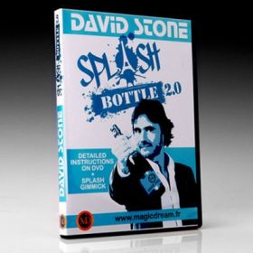 Splash Bottle 2.0 (DVD and Gimmicks) by David Stone & Damien Vappereau