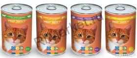ProХвост консервы для кошек 415гр