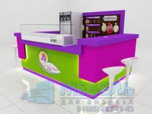 Островок для продажи мороженого