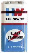 HI-WATT Крона 9V уп.10 шт