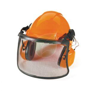 Шлем защитный в комплекте с наушниками и забралом