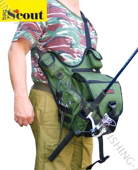 Скаут S55cout сумка с держателем удилища