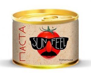 "Паста томатная 70г 18-20% с ключом ""SUN-FEEL"""