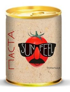 "Паста томатная 140г с ключом 18-20% ""SUN-FEEL"""