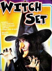 Набор ужасный Ведьмы