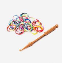 Цветные резиночки для плетения 200шт Happy Loom.