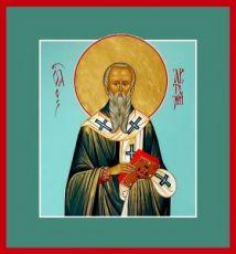 Артемий Солунский (рукописная икона)