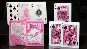 Карты Bicycle Metallic&Pink