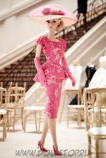 Коллекционная кукла Барби Цветочная Мода - Fashionably Floral Barbie Doll 2015