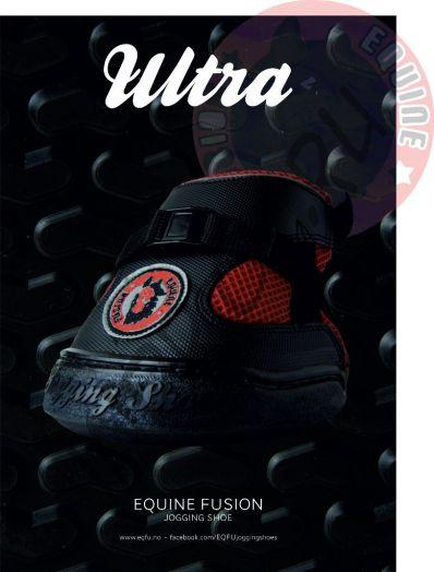 Ботинки для копыт Equine Fusion Ultra Regular Black (пара)