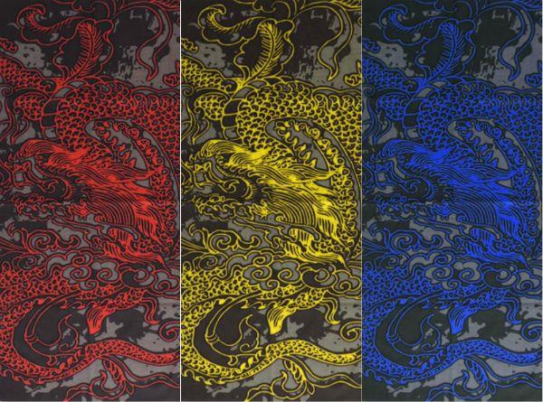 "Бандана-трансформер ""Дракон"" (три цвета)"