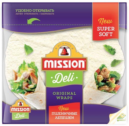 Mission Тортилья 8-дюйм. (4 леп. 166г) пшеничные
