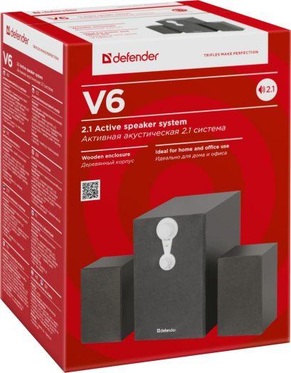 Мультимедийные колонки 2.1 Defender V6 2.1