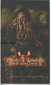 Автограф: Билл Найи, (Пираты карибского моря)