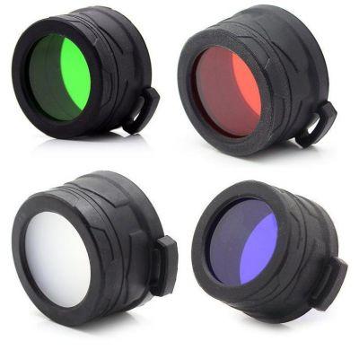 Цветные фильтры Nitecore Ø40мм (4 цвета)
